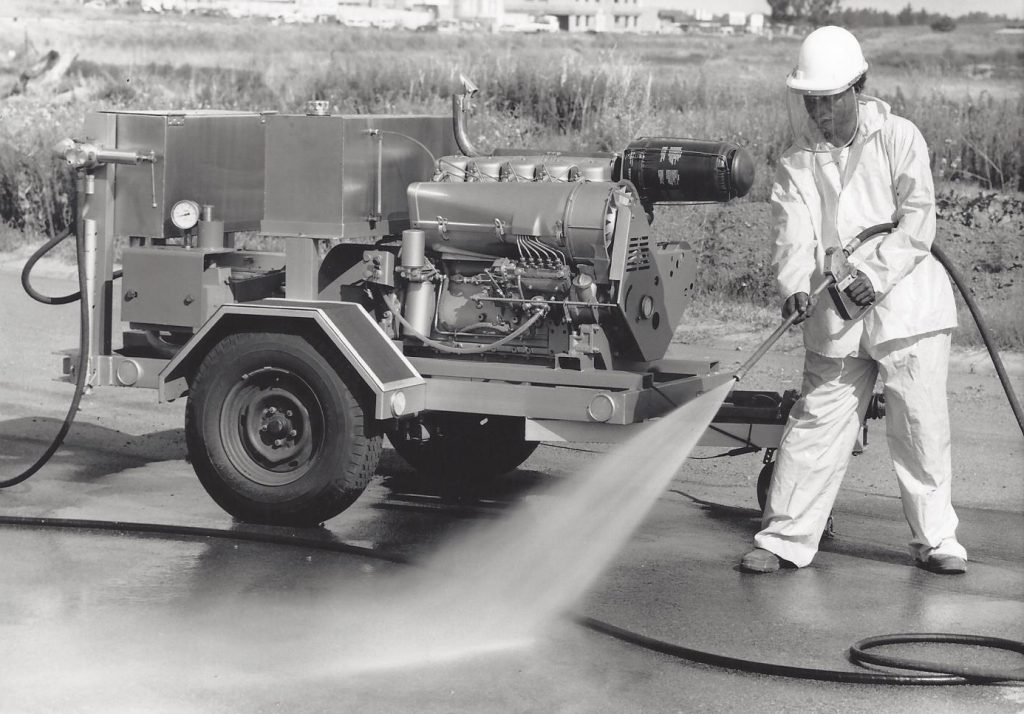Africatuff ultra high pressure water blasting