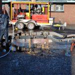 hydro-blasting surface preparation