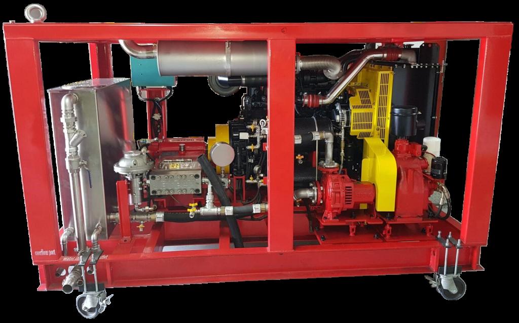 KP 100T J3 Diesel powered Pumping System