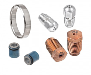Stoneage compatible nozzles and spares