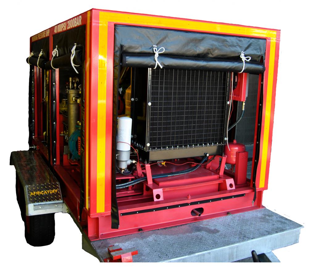 Diesel kp100 tj3 diesel pumping unit front